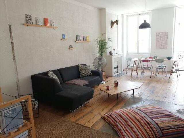 Charmant appartement loft de 60 m2