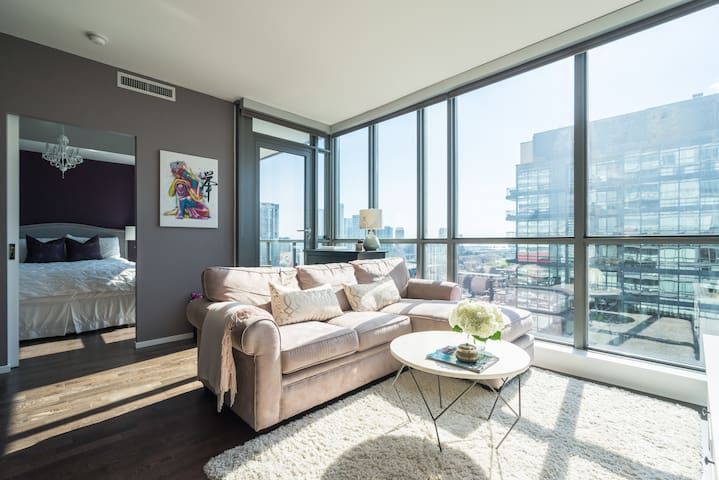 Chic Entertainment District Condo