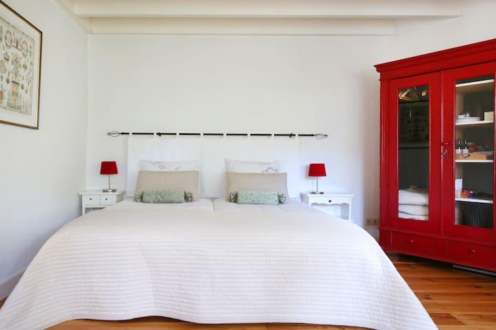 Sfeervolle kamer met terras - B&B Dijkhuis Eersel - Eersel - Szoba reggelivel