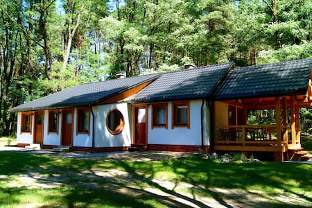 3rooms, house among trees, Eastern Poland