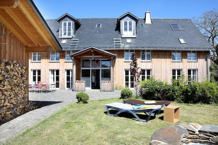 Ferienhaus für bis zu 20 Personen an der Geierlay