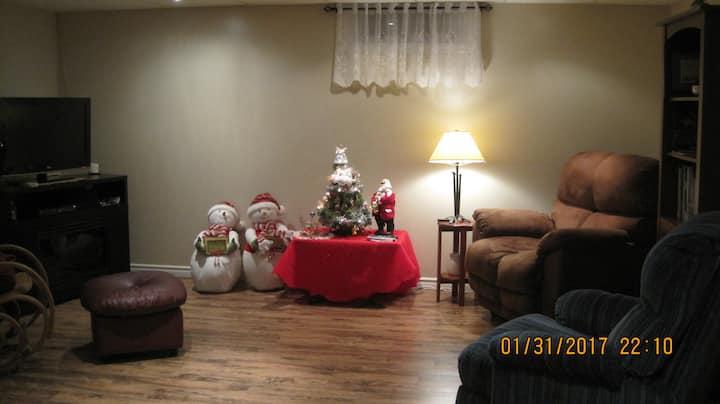 Nancys Cozy basement apartment
