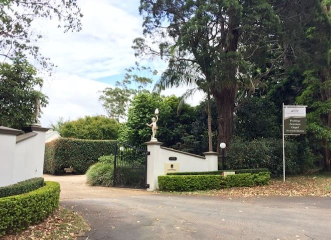 Property entry from main road