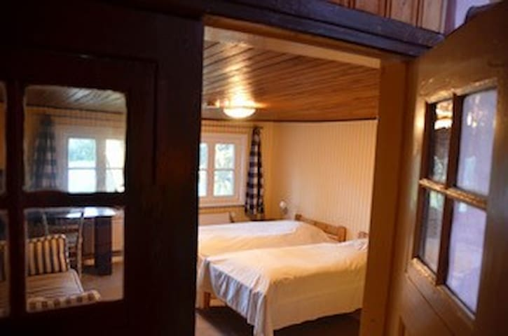 """4. Schlafzimmer, """"Janosch-Zimmer"""", mit zwei Einzelbetten im OG"""