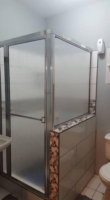 Bathroom.  Hot/Cold water