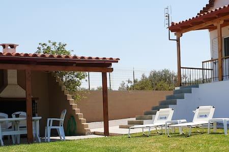 Saronikos Family House with Garden & BBQ    Flora
