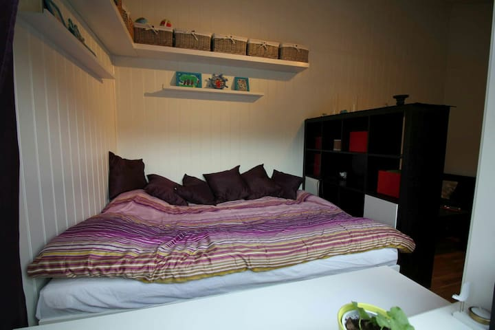 Nice room in cosy appartment - Norheimsund - Apartamento