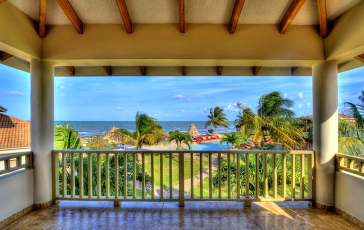 3-Bedroom beachfront apartment