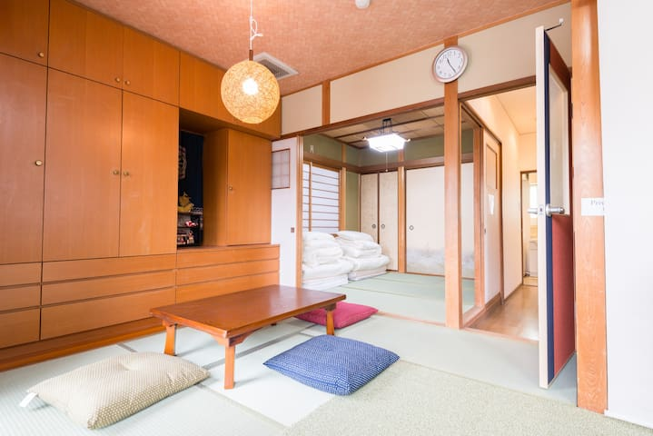 Kinkakuji nearby☆Free-WiFi☆Overlook Kyoto city