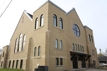 Escape to the Historical Roland Church Lofts!