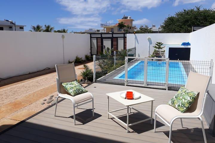 21LG Flic en Flac Calm &Modern Duplex Private Pool