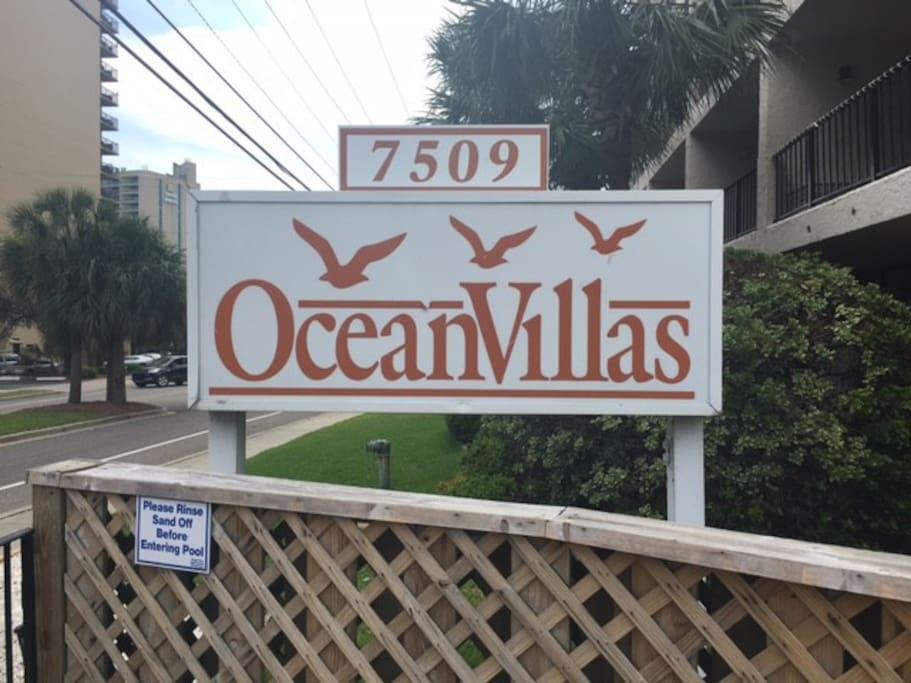 Ocean Villas!