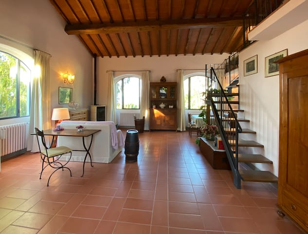 "COTTAGE ""FATTUCCHIA"" IN FLORENCE"