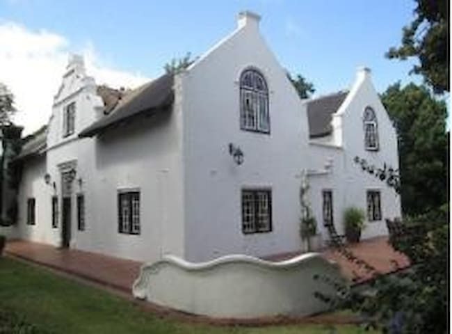 The Manor House Family Suite at  Knorhoek Estate.