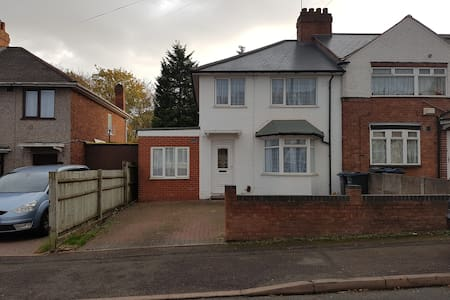 Large Family home by NEC, Airport and City Centre - Birmingham - Haus