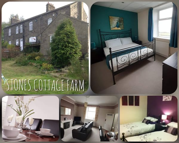 Stones Cottage Farm, free WiFi & parking, Haworth