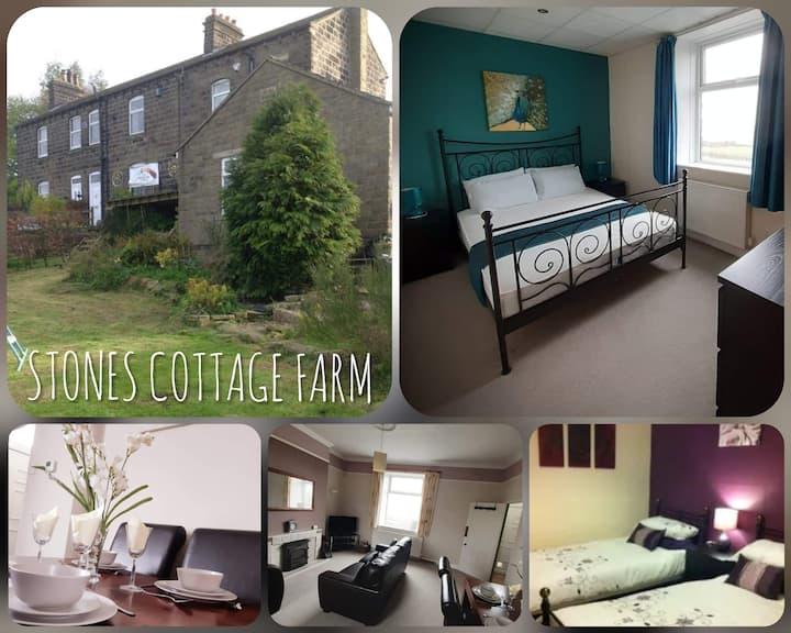 Stones Cottage Farm, free WiFi & parking, Haworth
