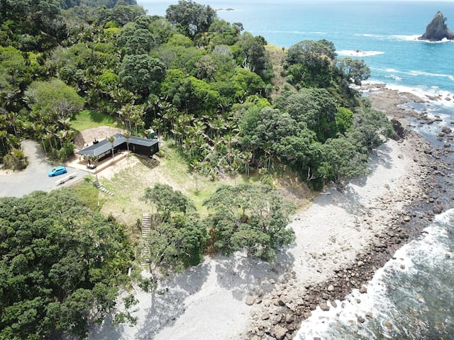 NIKAU BEACH HOUSE - Absolute Waterfront