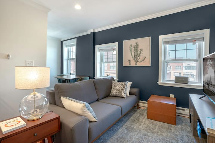Dreamy South Boston 1BR by Seaport & Lawn on D by Blueground