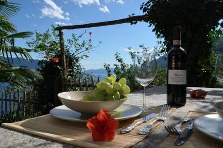 Haus mit herrlichem Panorama-Seeblick,privat Pool - Cannero Riviera - House - 1