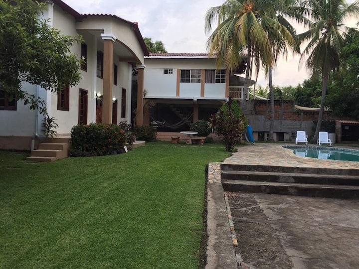 Beach private villa.
