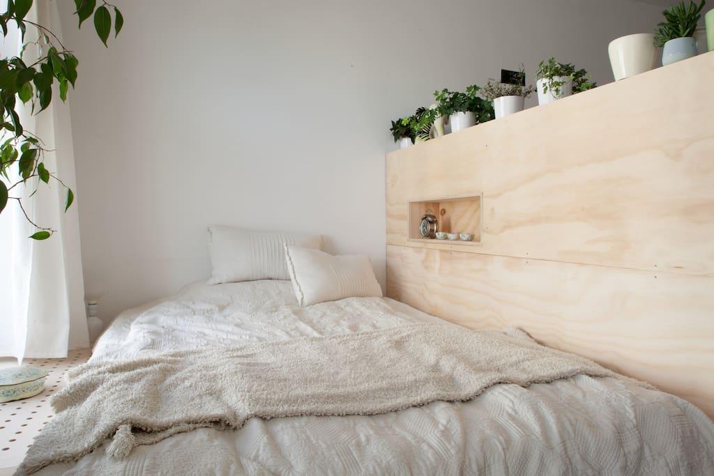 Schlafnische // Sleeping nook