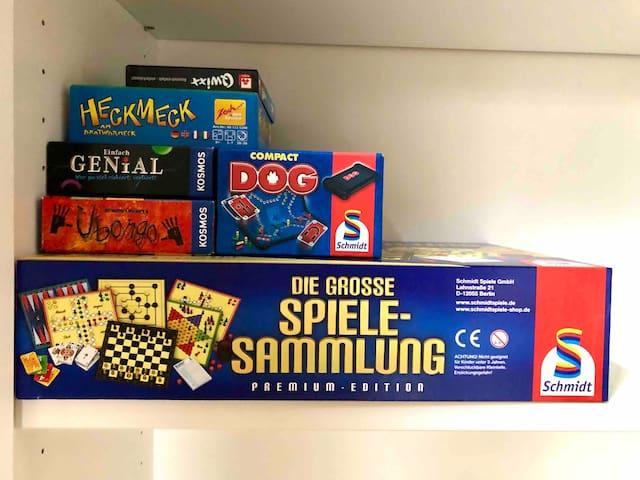 Spielesammlung! Board Games