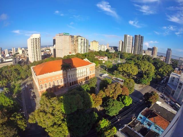 Quarto espaçoso e ventilado - Belém - Apartment