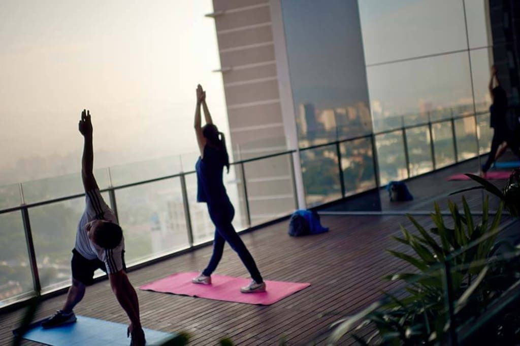 Yoga Pavilion at Sky Club Level 33A