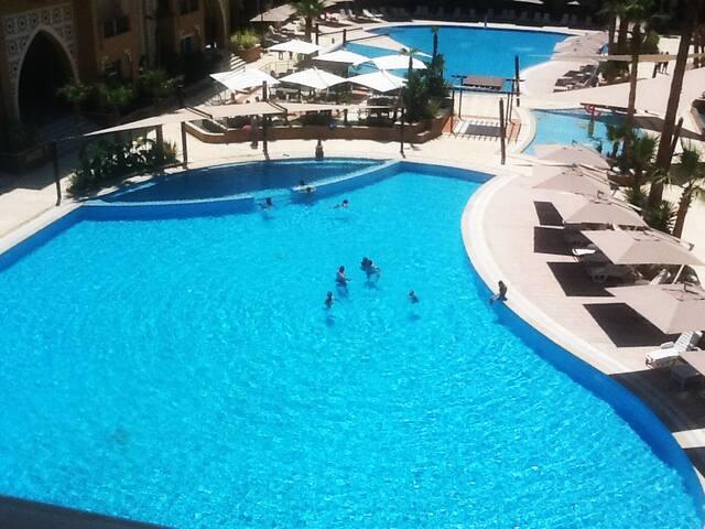 S+2 Dans résidence 5 étoiles FOLLA Aqua Resort