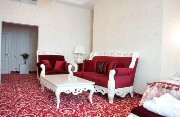 Апартаменты со шведским столом и SPA