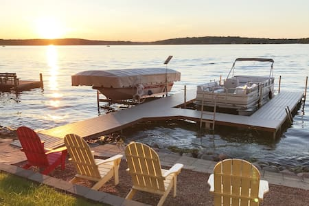 Exclusive Pewaukee Lake House Rental