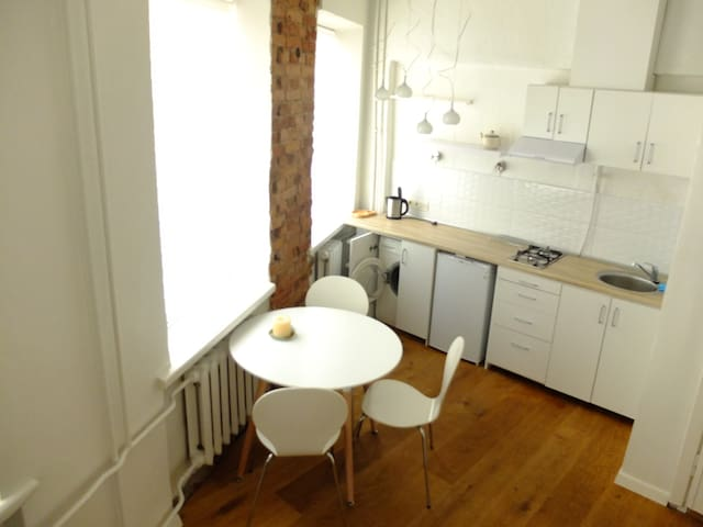 Light Studio in the heart of Kaunas old town - Kaunas - Apartemen