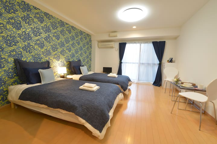 Bright, Relaxing Room @2 mins away from Ikebukuro - Bunkyō-ku - 公寓