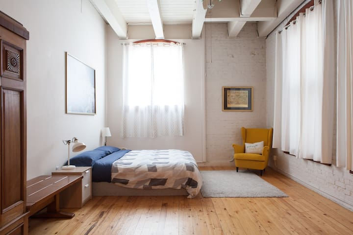 Spacious, gorgeous loft with tons of character