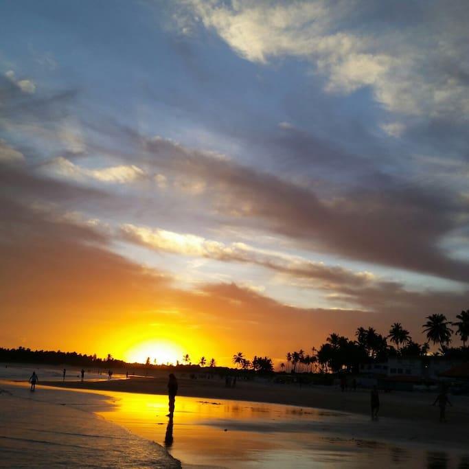 Imagem da praia Barra Mar