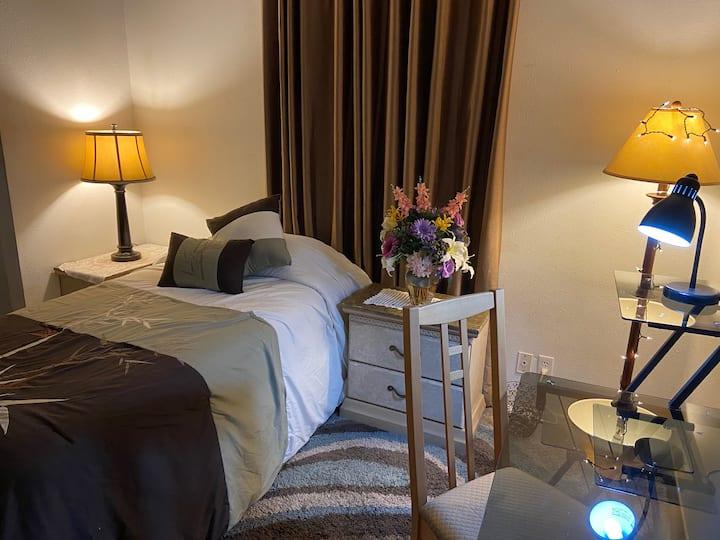 Comfortable, Cozy & Convenient  Room