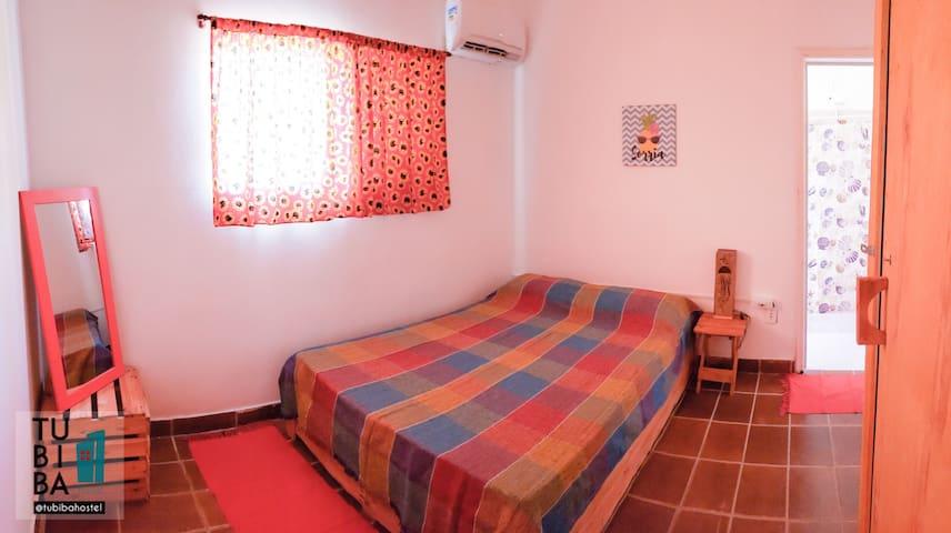 Tubiba hostel - Suíte - 1 min a pie de la playa