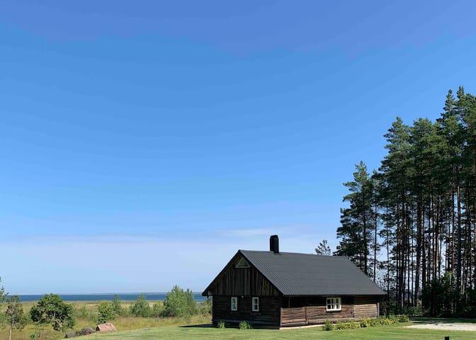 Merevaatega privaatne Saunamaja Ida-Saaremaal.
