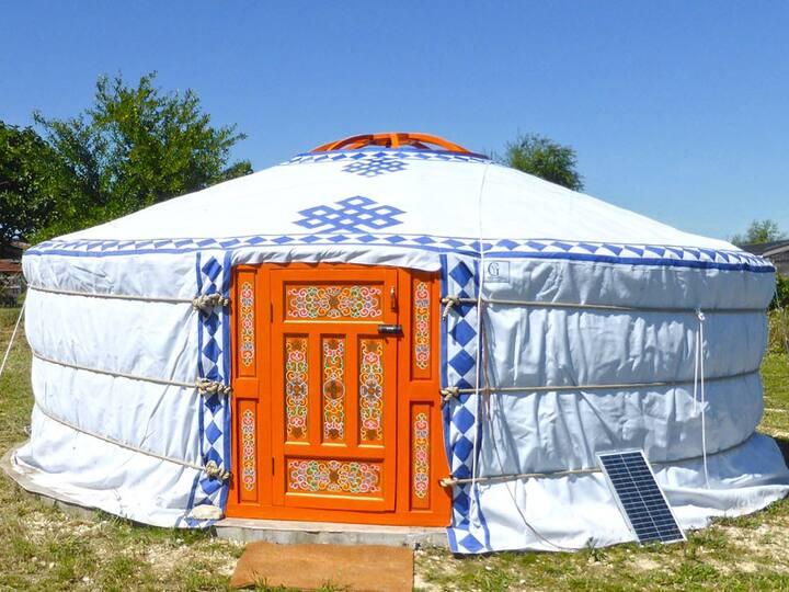 Les Yourtes d'Agnac (Agnac  Yurts) - Huppe yurt