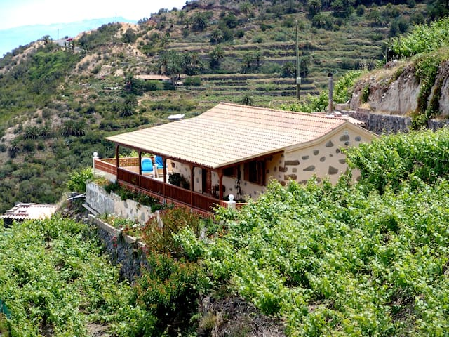 HOUSE QUILLA SURROUNDED BY VINEYARD - Agulo - Hus