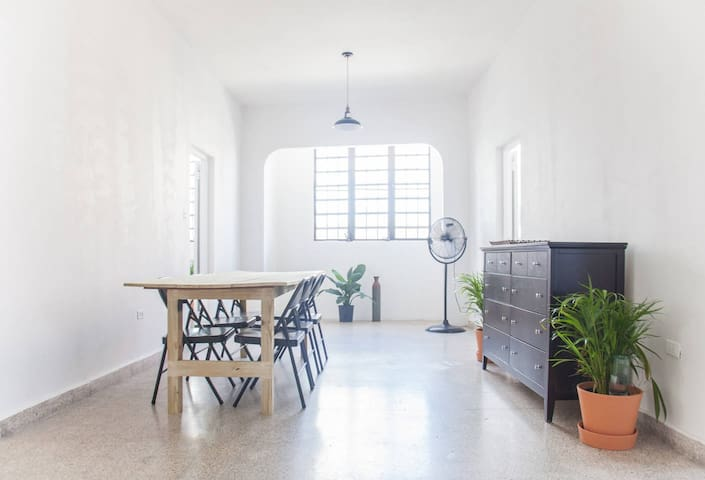 The real Puerto Rico: historic downtown apartment - Isabela - Flat