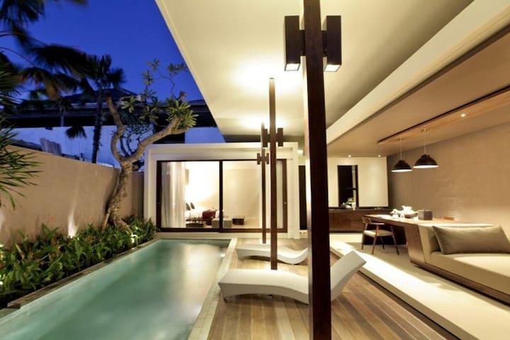 Luxury One Bedroom Private Pool Villas Seminyak