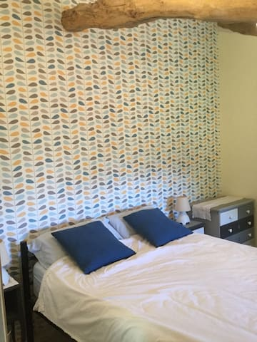 Newly decorated bedroom with en suit