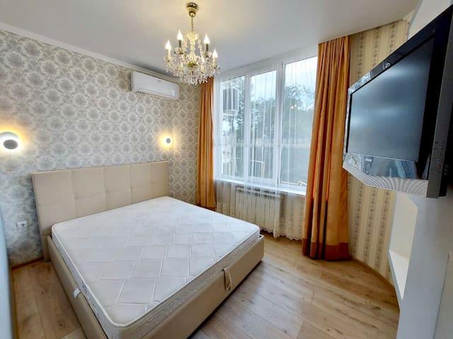 Уютная квартира в Сочи с видом на море