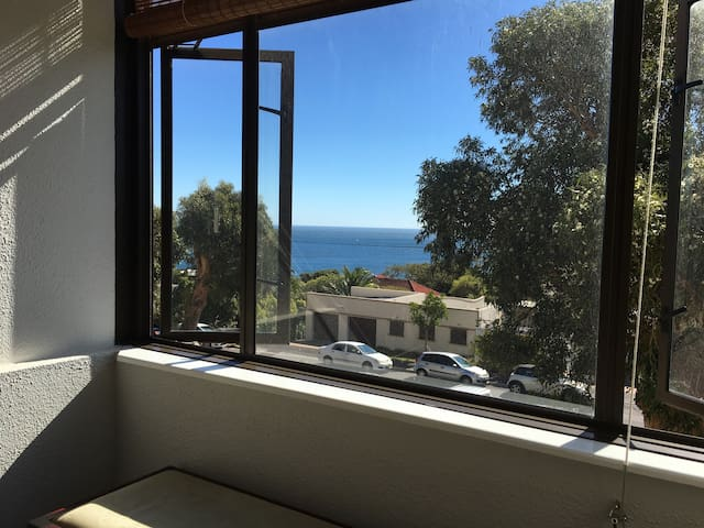 Ocean view from lounge