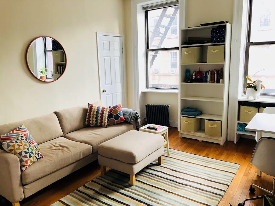 Living room - Sofa bed, sleeps two