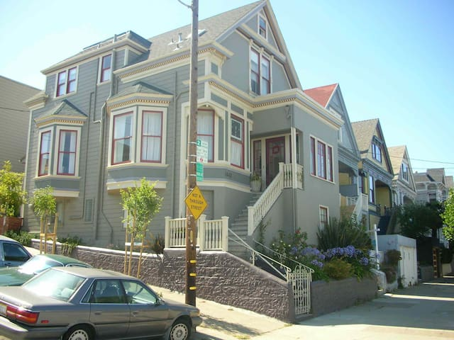 Sunny Corner Noe Valley Victorian - San Francisco - House