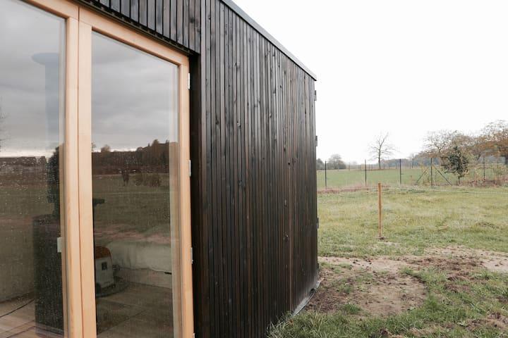 Ark Shelter in natuurlijk gebied nabij Gent - Oosterzele