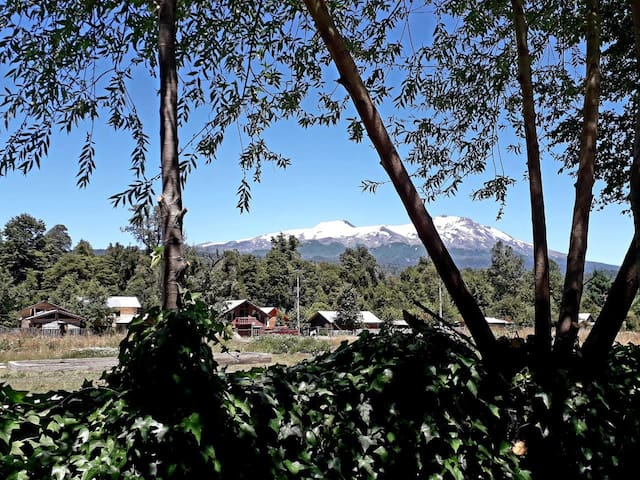 Cabaña con wifi en Huilo Huilo: Caviahue.